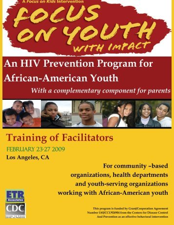 An HIV Prevention Program for African-American ... - ETR Associates