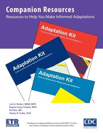 Companion Resources - ETR Associates