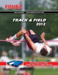Track Catalog - Fisher Athletic