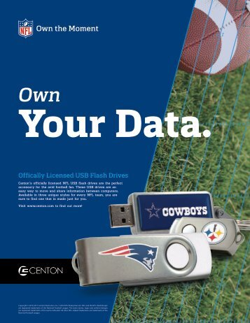 NFL Branded Products - Centon Electronics, Inc.