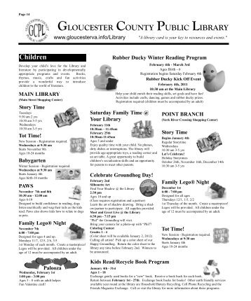 gloucester county public library - Gloucester County Virginia