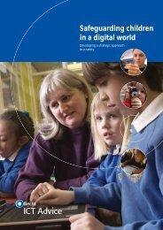 Safeguarding children in a digital world-Developing a strategic ...