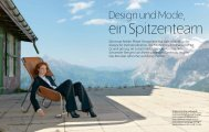 Die neue Atelier Pfister Designlinie hat sich ... - Scheidegg Hotels