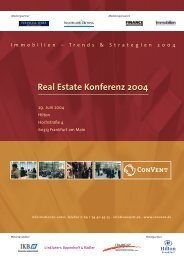 Real Estate Konferenz 2004 - Convent