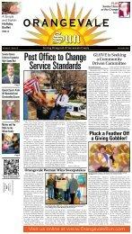 Volume 2 Issue 12 - December, 2011 - Orangevale Sun