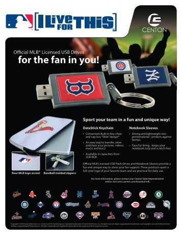 MLB Branded Products - Centon Electronics, Inc.