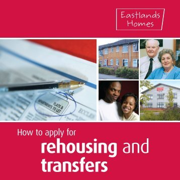 rehousing and transfers - Eastlands Homes