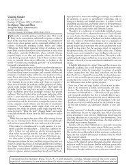 Undoing Gender.qxd - The Bloomsbury Review