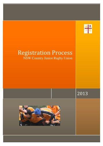 NSWCJRU Registration Process 2013 - Illawarra Rugby