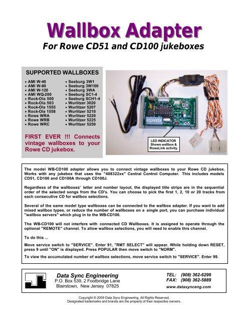 Wallbox Adapter - CD Adapter