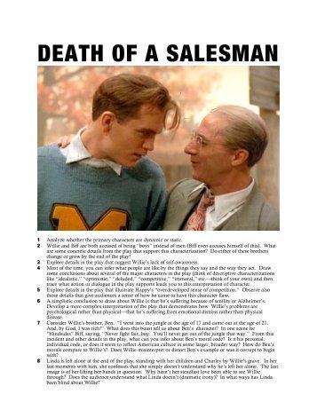 study on death of a salesman Study 19 death of a salesman flashcards from sarah m on studyblue.