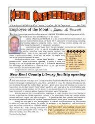 June 2010 - Kent County Delaware