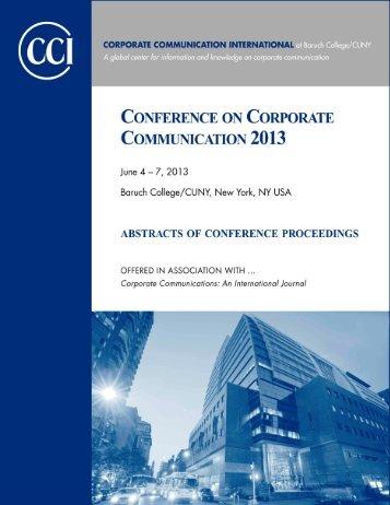 Document - Corporate Communication International