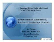 Novartis - Corporate Communication International