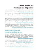 Business for Beginners - Page 4