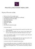 EVENT MENU SELECTOR 2010 - Best Western Wroxton House Hotel - Page 3
