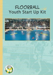 Youth Start Up Kit - Wellington Floorball