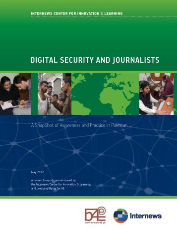 digital security and journalists - Internews Center for Innovation ...