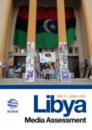 Libya Media Assessment - Internews