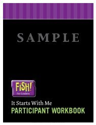Sample View pages from the Participant Workbook.