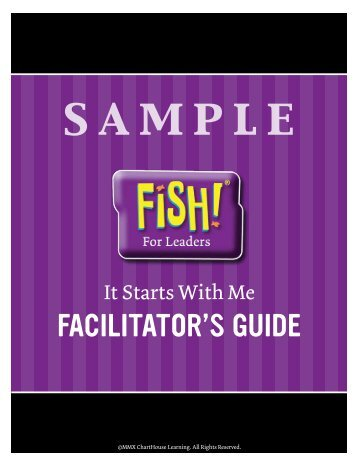 Sample View pages from the Facilitator's Guide.