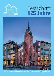 Festschrift 2012 - Haus- und Grundbesitzerverein von 1887 Berlin ...