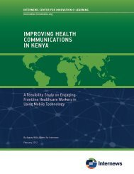 download the report - Internews Center for Innovation & Learning