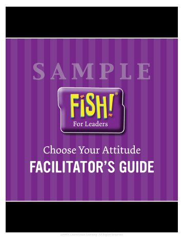 Choose Your Attitude - Facilitator Guide Sample
