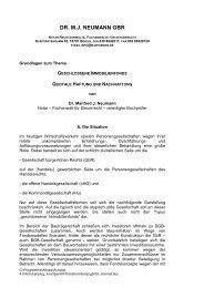 DR. M.J. NEUMANN GBR - Aurum GmbH Steuerberatungsgesellschaft