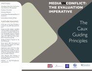 The Caux Guiding Principles - Internews