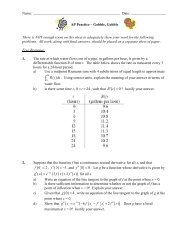 related rates homework mastermathmentor