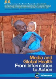 Media and Global Health From Information to Action - Internews