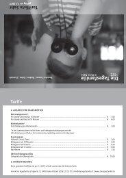 Download Tarifliste für Suhr - Die Tagesfamilie