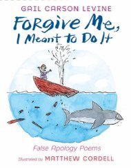 Read an excerpt! - HarperCollins Children's Books