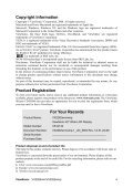 VX2262WM-1, VX2262WMP-1 User Guide, English - Page 6