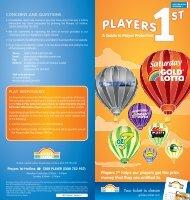 Golden Casket Players 1st brochure