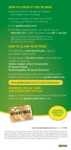 Oz Lotto® guarantees a minimum Division 1 prize pool of $2 million ... - Page 3
