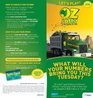 Oz Lotto Lets Play Guide - Tatts.com