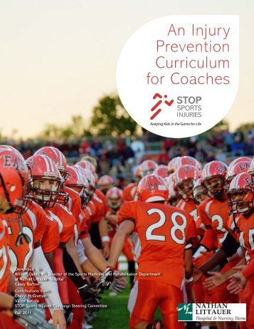 An Injury Prevention Curriculum for Coaches - HomeTeamsONLINE
