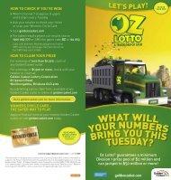 Oz Lotto Guide