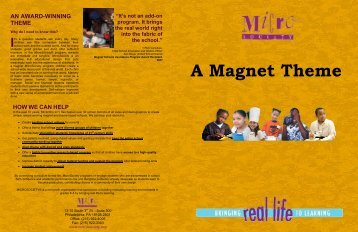 Download a Magnet Theme Brochure - MicroSociety