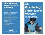 D - MicroSociety