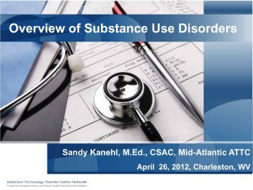 Overview Of Substance Use Disorders – NASWWV - National ...