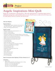 Find instructions for this mini quilt here. - Amazing Designs Blog