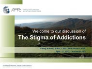 The Stigma of Addictions - National Association of Social Workers ...