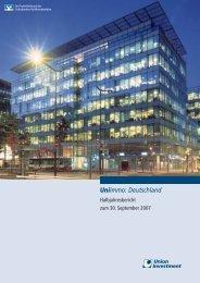 UniImmo: Deutschland - Union Investment