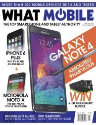 What Mobile - January 2015