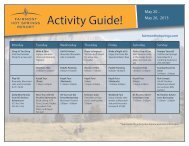 Activity Guide! - Fairmont Hot Springs Resort
