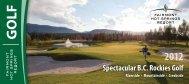 regular golf offers - Fairmont Hot Springs Resort
