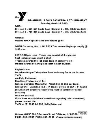 Team registration 4rd annual 3 on 3 basketball tournament ottawa ymca pronofoot35fo Choice Image